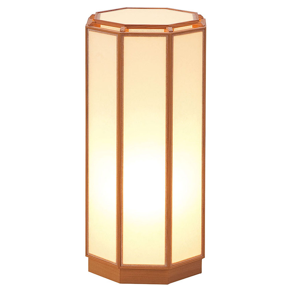 室内行灯 八角 [ 約19.5 x 19.5 x H39.5cm ] 【 行灯 】 | 照明 インテリア 和室 旅館 料亭 ホテル 飲食店