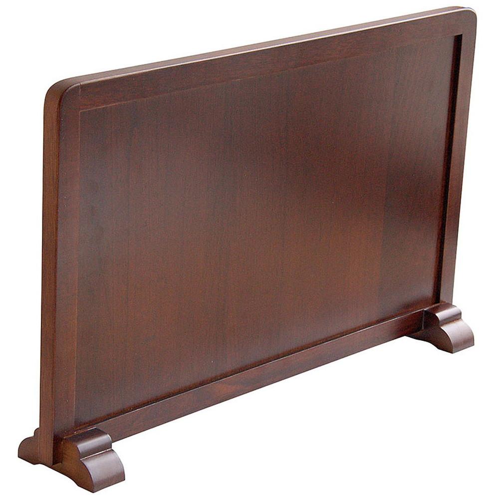 ミニ衝立 ブラウン [ 約45 x 8 x H28cm ] 【 衝立 】 | 飲食店 和食 カウンター 仕切 居酒屋 業務用