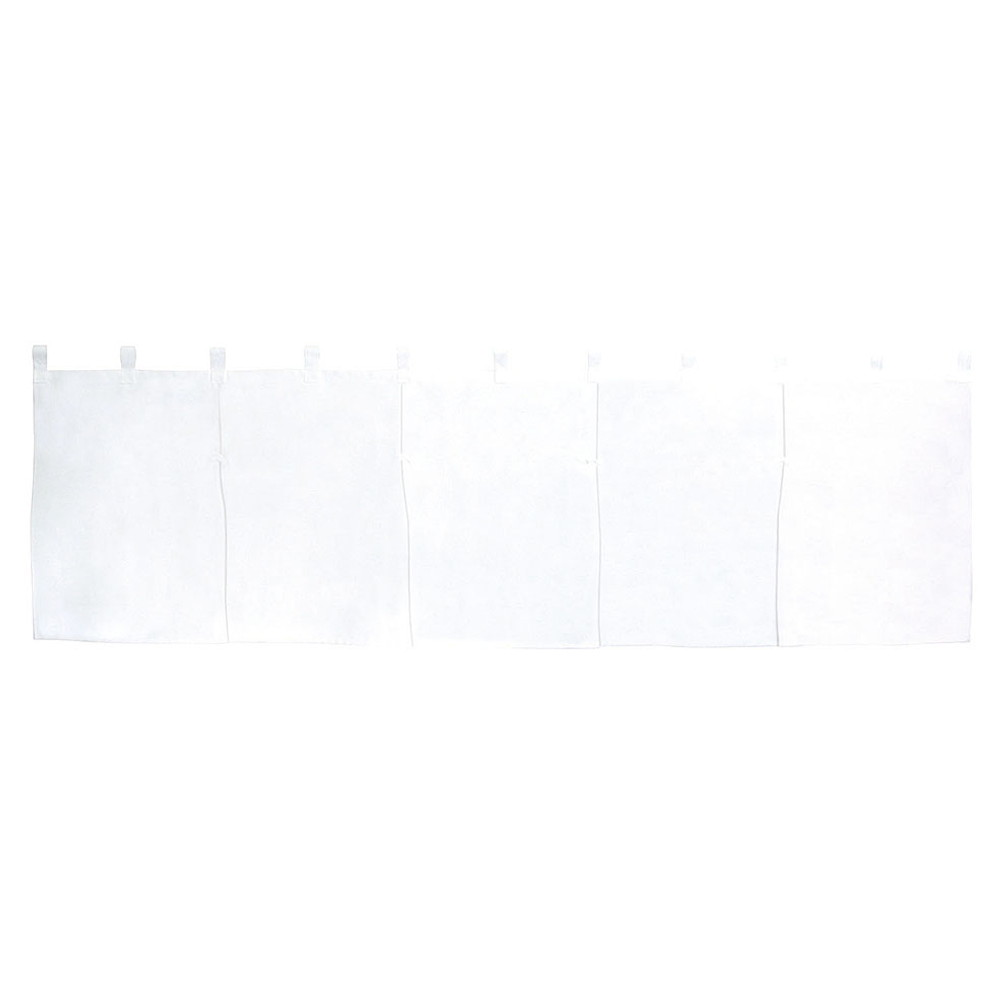 5巾のれん 天竺 [ 約175 x 50cm ] 【 のれん 】 | 飲食店 店舗 和食 厨房 入口 軒先 暖簾 業務用