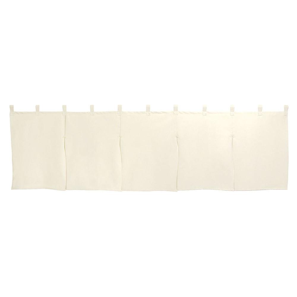 5巾のれん 生成天竺 [ 約175 x 50cm ] 【 のれん 】   飲食店 店舗 和食 厨房 入口 軒先 暖簾 業務用