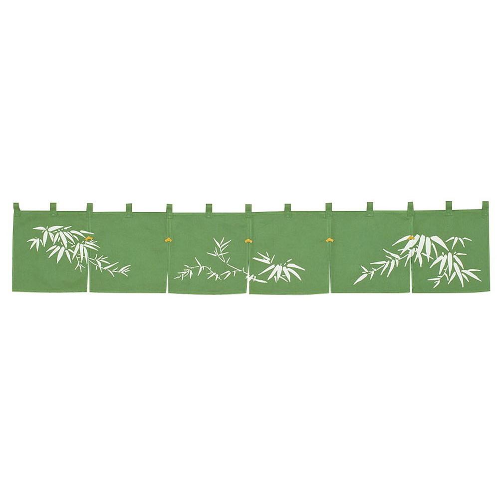 のれん 若竹 緑 [ 約170 x 30cm ] 【 のれん 】 | 飲食店 店舗 和食 厨房 入口 軒先 暖簾 業務用