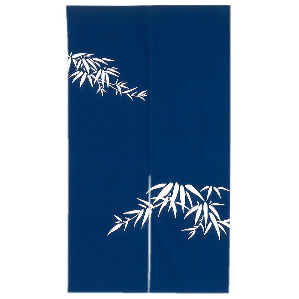 のれん 若竹 紺 [ 約85 x 150cm ] 【 のれん 】 | 飲食店 店舗 暖簾 厨房 和食 業務用