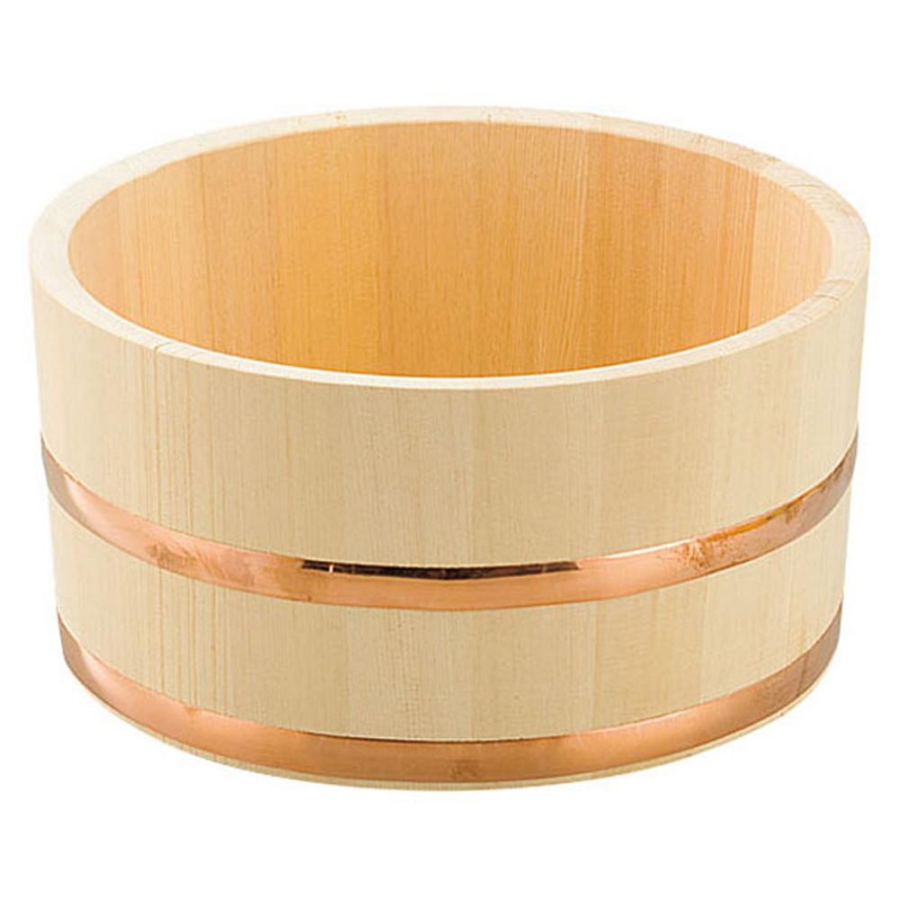 檜・湯桶 [ 約Φ22.5 x H11.5cm ] 【 浴場用品 】   温泉 銭湯 ホテル 旅館 木製 お風呂 入浴