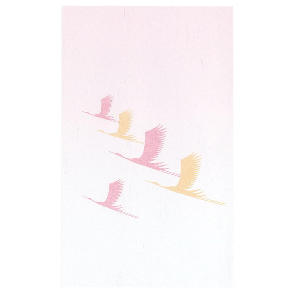 寿・ドーム掛紙 祝鶴 (200枚入) [ 約17.5 x 28.5cm ] 【 寿懐石 】 | 結婚式場 ホテル 宴会 旅館 和食 お祝い 業務用