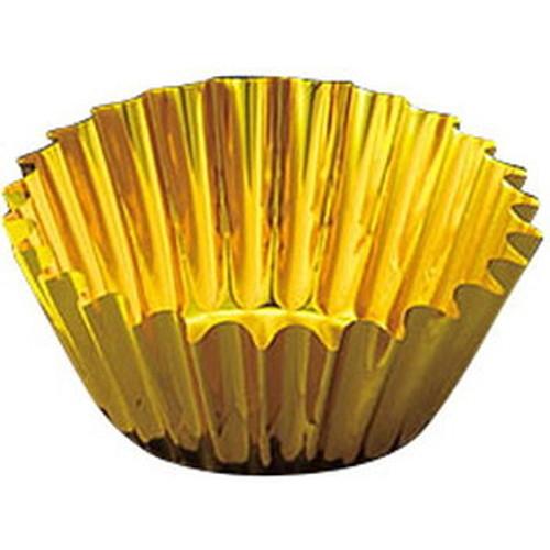 フィルムケース(500枚入) 7F 金 [ 底約Φ4.5 x H2.7cm ] 【 フィルムケース 】 | お弁当 和食 洋食 仕切 飲食店 お節 業務用