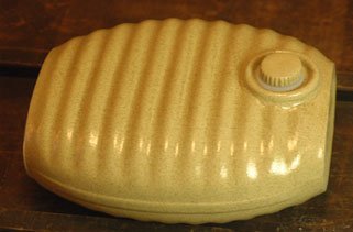 Nostalgic ceramics hot-water bottle