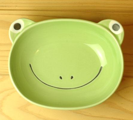 大事に扱う心を育む 子供用食器 新作送料無料 カレー皿 品質検査済 カエル