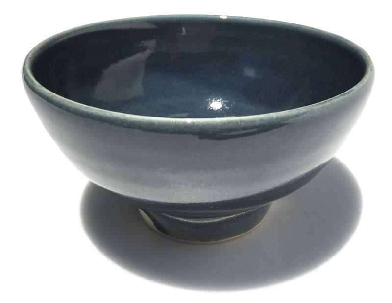 【ファイルNO.14】湯之根窯 加藤達次 瑠璃抹茶茶碗