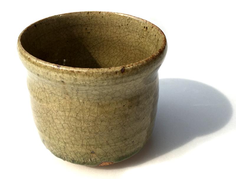 【ファイルNO.15】加藤敬也作(Kato Keiya) 灰釉抹茶茶碗