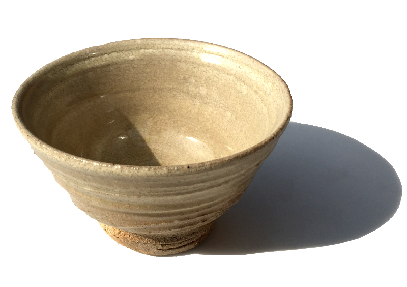 【ファイルNO.16】鈴木八郎作(Suzuki hachiro) 志野抹茶茶碗