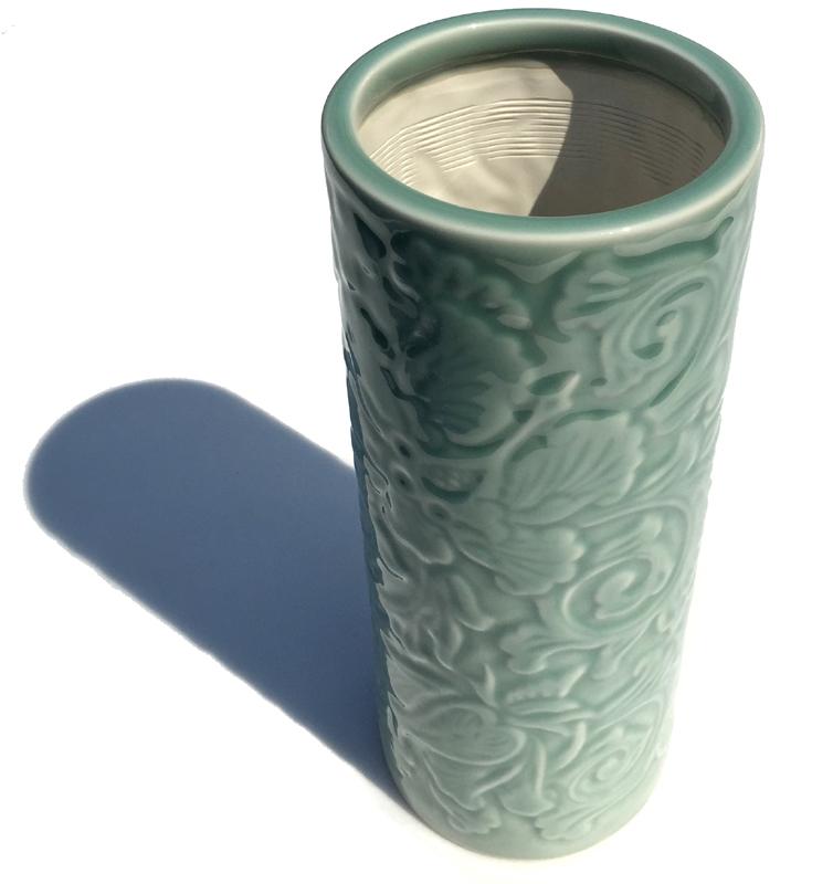 ご先祖供養に 花瓶 唐草投入 10号 祭壇 仏器 供養 ブランド買うならブランドオフ 花立 本日限定