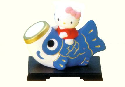 五月人形 端午の節句 プレゼント 子 孫 贈り物 鯉のぼり こいのぼり 兜 鎧 70%OFFアウトレット 誕生日のお祝い 置物 内祝い KITTY こどもの日 出産祝い コンパクト HELLO 安売り