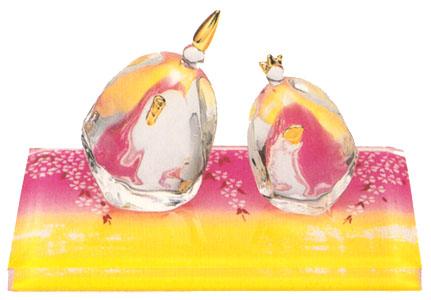 寄添い雛 桜台飾 出産祝 陶器 桃の節句 雛祭 内祝 誕生日 お雛様 お雛さま おひな様 雛人形 ひな人形