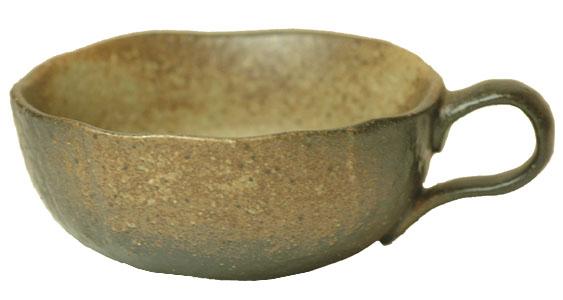 お値段以上 黒備前吹き 片手スープ碗 新色追加 予約販売