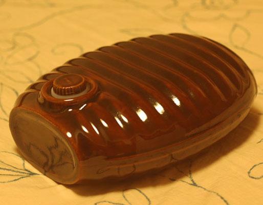 Retro pottery hottie