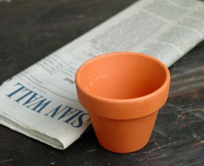 ドイツ製 テラコッタ おしゃれ 限定価格セール 内径6cm 人気ブレゼント 植木鉢 ドイツ鉢