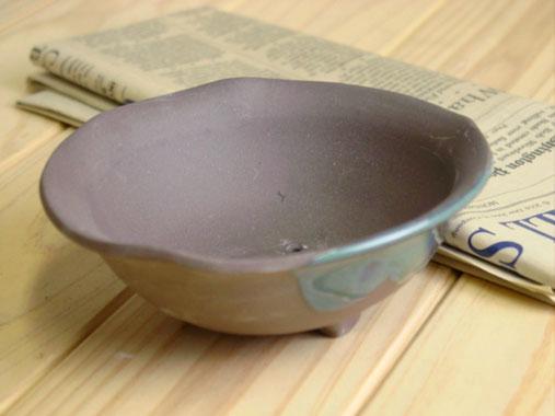 ミニ盆栽鉢 豆盆栽鉢 小品盆栽鉢に最適 植木鉢 驚きの価格が実現 山草丸4号 和風植木鉢 磁器 陶器 内祝い ※浅型ではありません