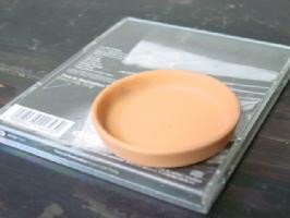 素焼きの受け皿2.3号 テラコッタ おしゃれ 植木鉢