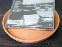 5号朱温鉢 ドイツ鉢 7.1 6.4インチ 高級品 と相性 素焼きの受け皿5号 おしゃれ 定番から日本未入荷 テラコッタ 植木鉢