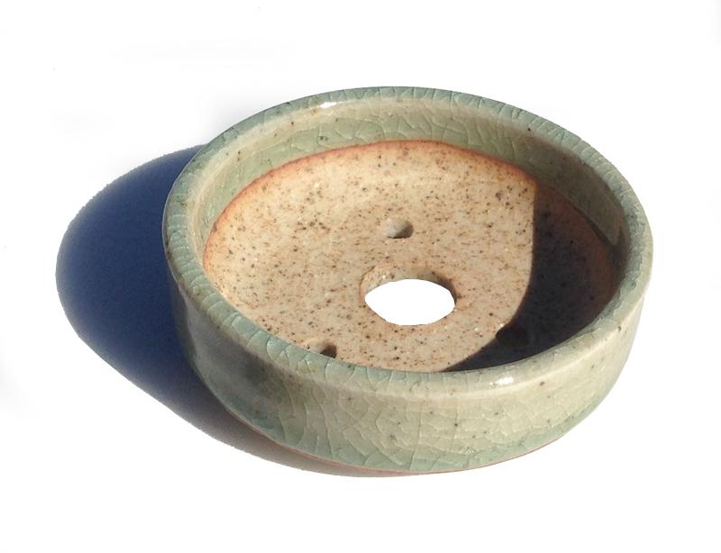 せともの市場オリジナル 晋泉造植木鉢 スピード対応 全国送料無料 2号豆鉢 ショップ 和風植木鉢 陶器 ミニ盆栽鉢 磁器
