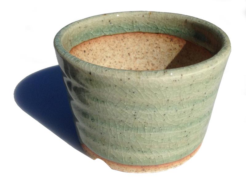 せともの市場オリジナル 晋泉造植木鉢 2.5号ラン鉢 和風植木鉢 磁器 陶器 内祝い ミニ盆栽鉢 安売り