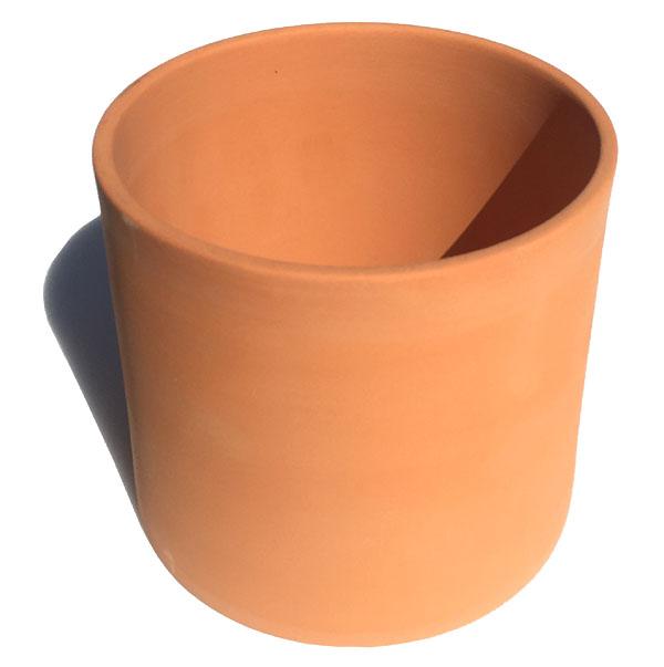 永遠の定番 素焼きの切立丸大 テラコッタ 高品質 植木鉢 おしゃれ