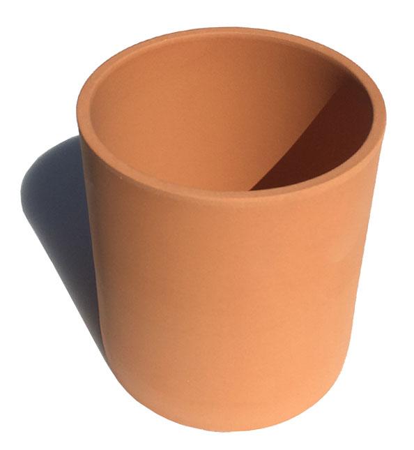 素焼きの切立丸小 正規品 テラコッタ おしゃれ セール商品 植木鉢