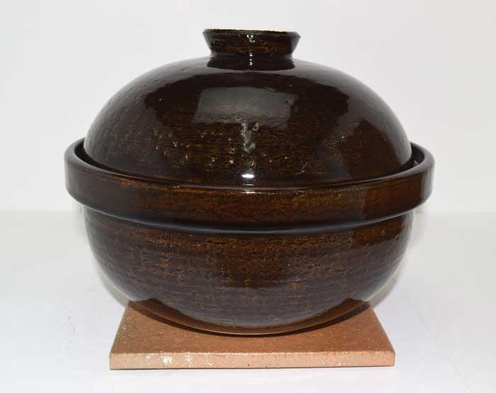 伊賀焼 長谷園いぶしぎん 大(陶板、金網3枚(3段)、チップ、レシピ付き)