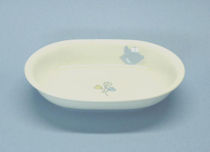 【波佐見焼】 【白山陶器】チャイルド・ウェア森の詩 楕円鉢