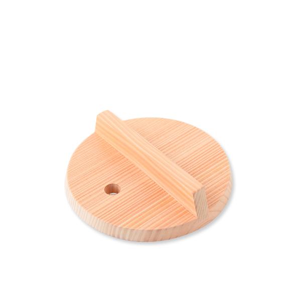 桧よりも水湿に強い さわら で作った木の落し蓋 雪平鍋 木製 16cm用 海外輸入 日本製 新色追加 雪平用落し蓋 ambai アンバイ
