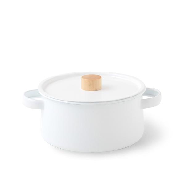 【ホーロー/日本製/IH対応】kaico(カイコ) 両手鍋