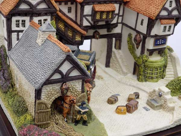 Scotland-Fraser creations miniatures collection start preparing THE STAGING POST