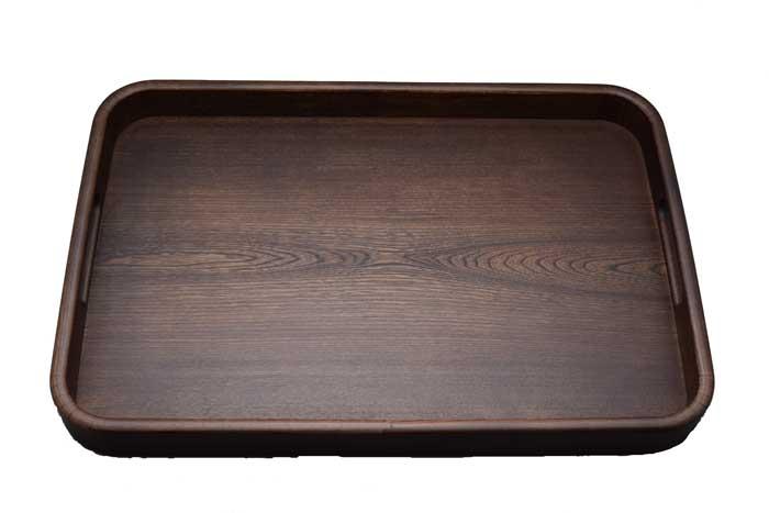 そのべ木のうつわ 木の道具きなり隅丸長手盆 せん尺5寸専用化粧箱入り