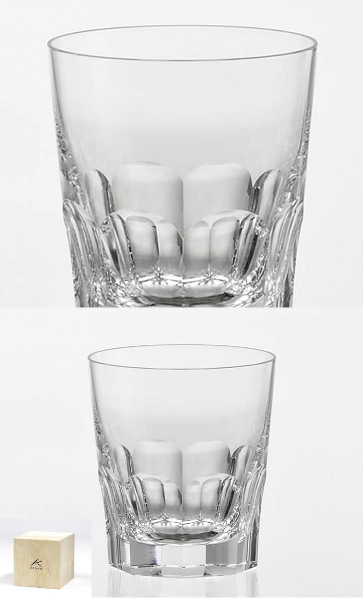 【クーポン!10%OFF!】+【送料無料】(・)カガミクリスタル「プレステージライン ロックグラス」(品番 - T9852-1914)(木箱入)口径83mmx高さ93mm(280cc)各務クリスタル【江戸切子 ロックグラス】江戸切子 ロック グラス【ウィスキー グラス】ウィスキー グラス