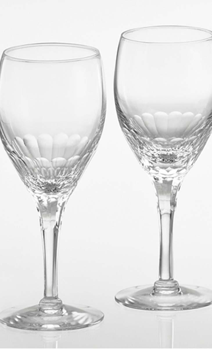【クーポン!10%オフ】+【送料無料】カガミクリスタル「ペア白ワイングラス」<エクラン>品番 - KWP249-2533(化粧箱入 口径66mmx高さ180mm・240cc)各務クリスタル【江戸切子 ロックグラス】江戸切子 ロック グラス【ウィスキー グラス】ウィスキー グラス