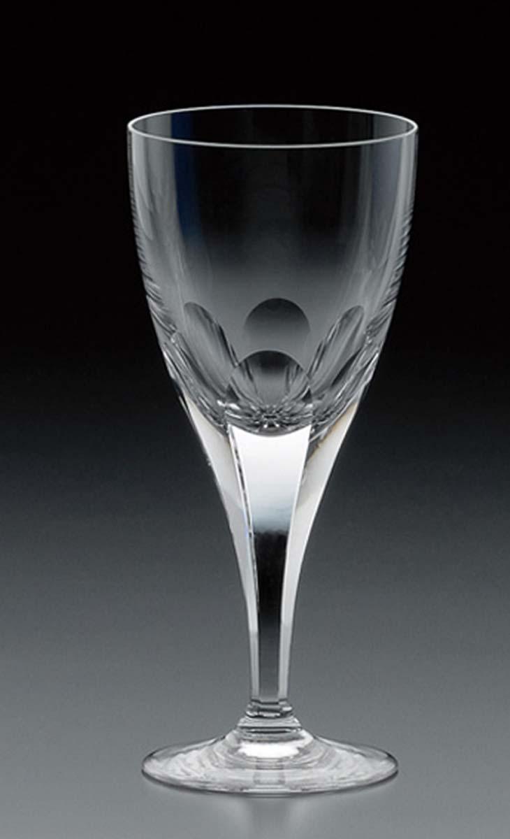 【クーポン!10%オフ】+【送料無料】カガミクリスタル「ロイヤルライン 白ワイングラス」品番 - K802-72(化粧箱入)口径71mmx高さ157mm・170cc)各務クリスタル【江戸切子 ロックグラス】江戸切子 ロック グラス【ウィスキー グラス】ウィスキー グラス