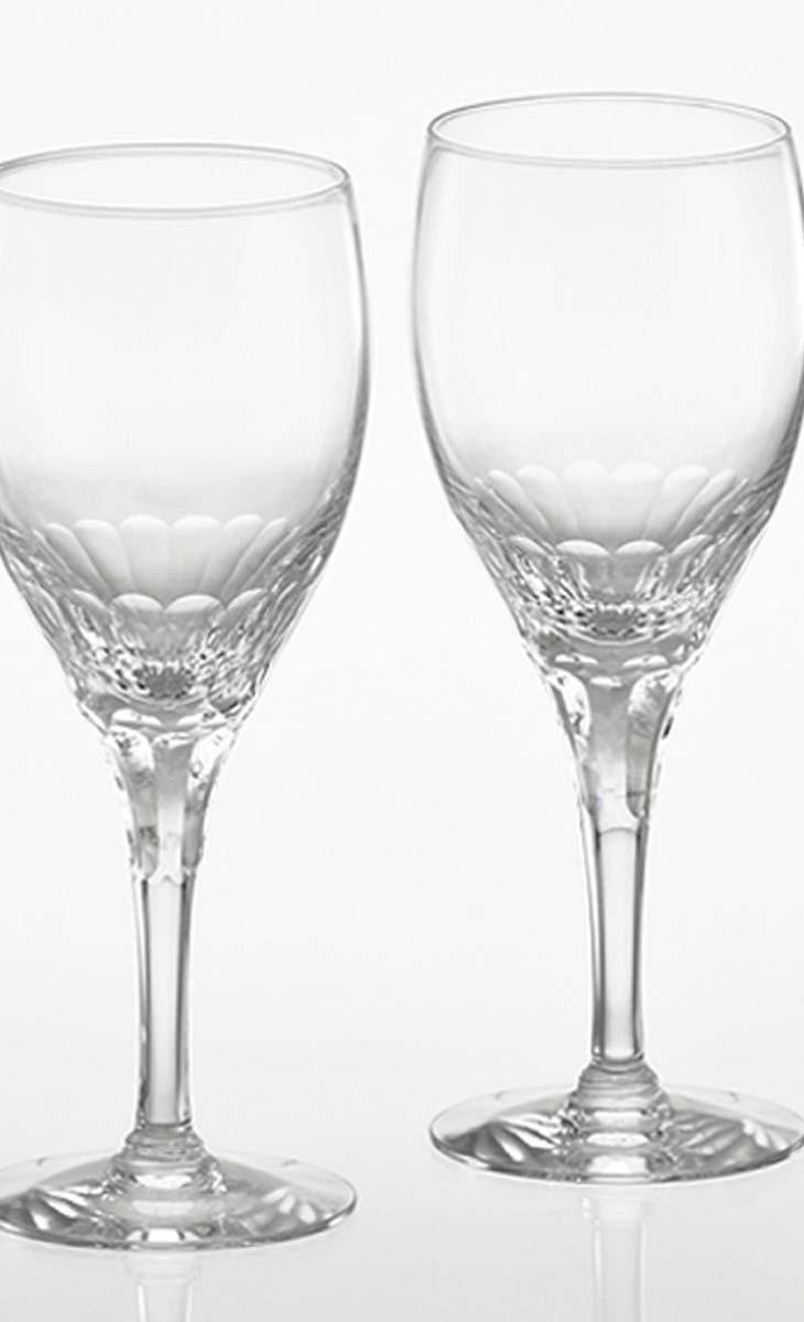 【クーポン!10%オフ】+【送料無料】カガミクリスタル「ペア赤ワイングラス」<エクラン>品番 - KWP274-2533(化粧箱入・口径70mmx高さ188mm・280cc)各務クリスタル【江戸切子 ロックグラス】江戸切子 ロック グラス【ウィスキー グラス】ウィスキー グラス