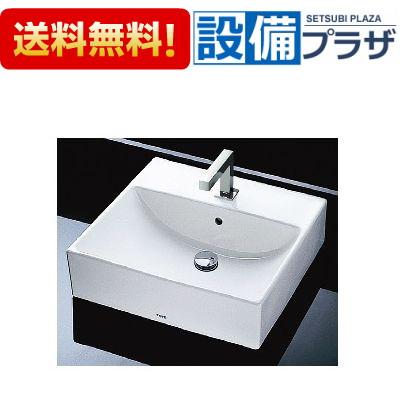 【全品送料無料!】★[L710C-TENA12E-HR710-T6SM1]TOTO 角形洗面器セット 床排水 台付自動水栓(単水栓)