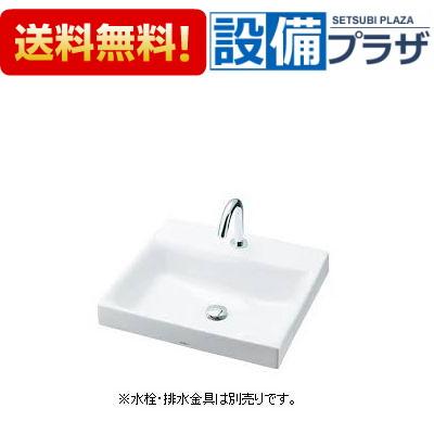 【全品送料無料!】★[LS717C]TOTO カウンター式洗面器 ベッセル式 角形洗面器【洗面器のみ】