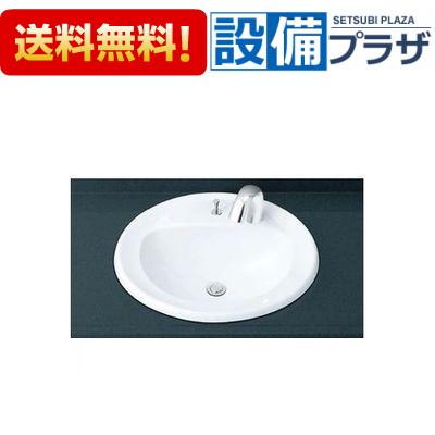 【全品送料無料!】▲[L-2394AP-AM-140TC(100V)-LF-5SALU]INAX/LIXIL はめ込みだ円形洗面器(オーバーカウンター式)セット 床排水 自動水栓