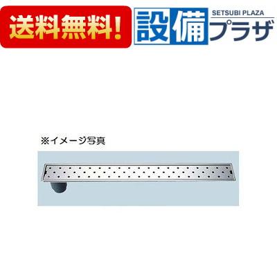 【全品送料無料!】[PBF-TM4-120T]INAX/LIXIL 浴室用 トラップ付排水ユニット(目皿、施工枠付) 非防水層タイプ 縦引きトラップ
