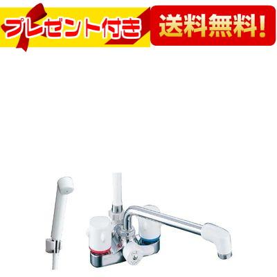 【全品送料無料!】【プレゼント付き】[BF-M606-U]INAX/LIXIL シャワーバス水栓 2ハンドルシャワー  ミーティス(デッキタイプ)(寒冷地用)(BFM606U)
