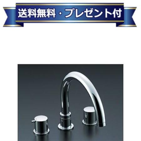 【全品送料無料!】【プレゼント付き】[BF-E093B-U]INAX/LIXIL 2ハンドルバス水栓 eモダン(デッキタイプ)(乾式工法)(BFE093BU)
