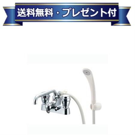 【全品送料無料!】【プレゼント付き】[152-204(220)]KAKUDAI/カクダイ 2ハンドルシャワ混合栓(台付) (152204220)(一時止水)カクダイ