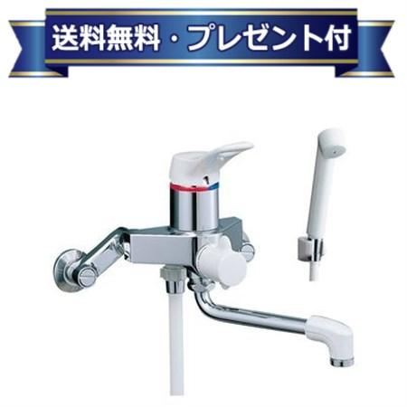 【全品送料無料!】【プレゼント付き】[BF-M135SN]INAX/LIXIL シャワーバス水栓 シングルレバー  壁付タイプ(ミーティス)(寒冷地用)(BFM135SN)