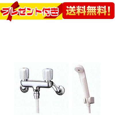 【全品送料無料!】【プレゼント付き】□[TMS24C]TOTO 浴室用シャワー水栓 2ハンドルシャワー金具 壁付タイプ