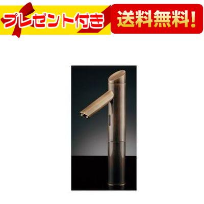 【全品送料無料!】【プレゼント付き】[713-321-AB]KAKUDAI/カクダイ センサー水栓 オールドブラス トール(旧品番:713-334)