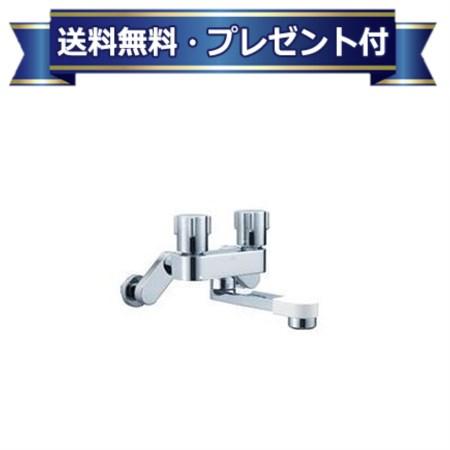 【全品送料無料】【プレゼント付き】[BF-WD405]INAX/LIXIL 2ハンドル混合水栓 一般水栓 一般地・寒冷地共用