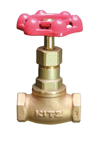 KITZ(キッツ) グローブバルブ 青銅 J-65A バルブ J型 ねじ込み形 玉形弁 JIS10K
