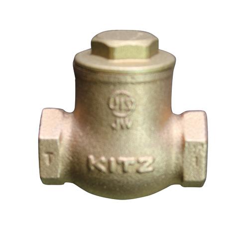 KITZ(キッツ) スイングチャッキバルブ 青銅 O-80A バルブ O型 ねじ込み形 スイング逆止め弁 JIS10K